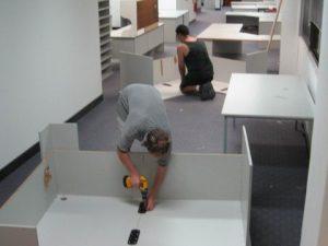 montaje oficinas Burgos